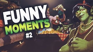 Hearthstone - Funny & Lucky Moments Montage #2 (2017)
