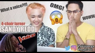 "SandyRedd Gets Four Turns with Bishop Briggs' ""River"" - The Voice 2018 Blind Auditions 