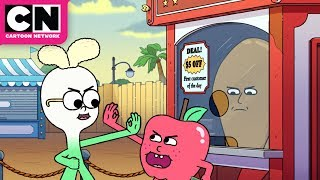 Dilly Dallying | Apple & Onion | Cartoon Network