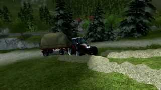 Storing grass in alps Farming simulator 2013