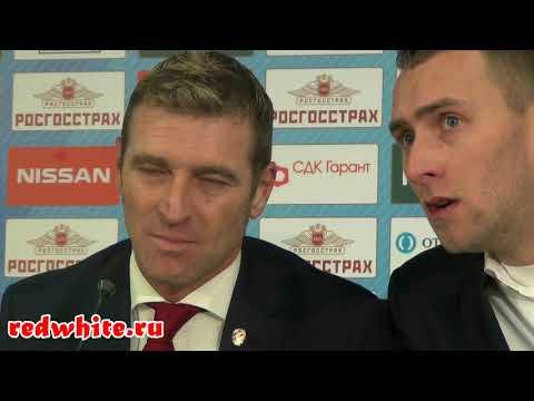 Массимо Каррера после матча Спартак - зенит 3:1