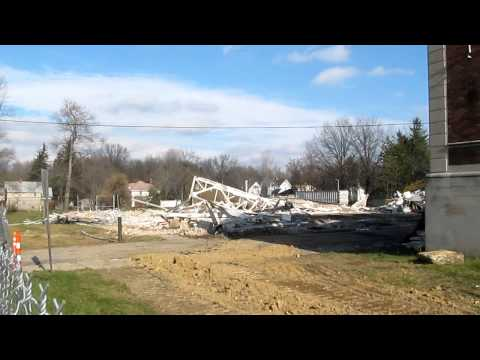 Update: Demolition of the old Ravenna High School Nov 26, 2012