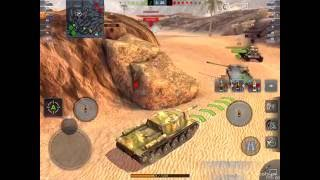 [ 60fps ] World of Tanks Blitz  SU-152 Boom Boom