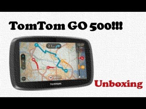 TomTom GO 500 rzut okiem na nawigację samochodową