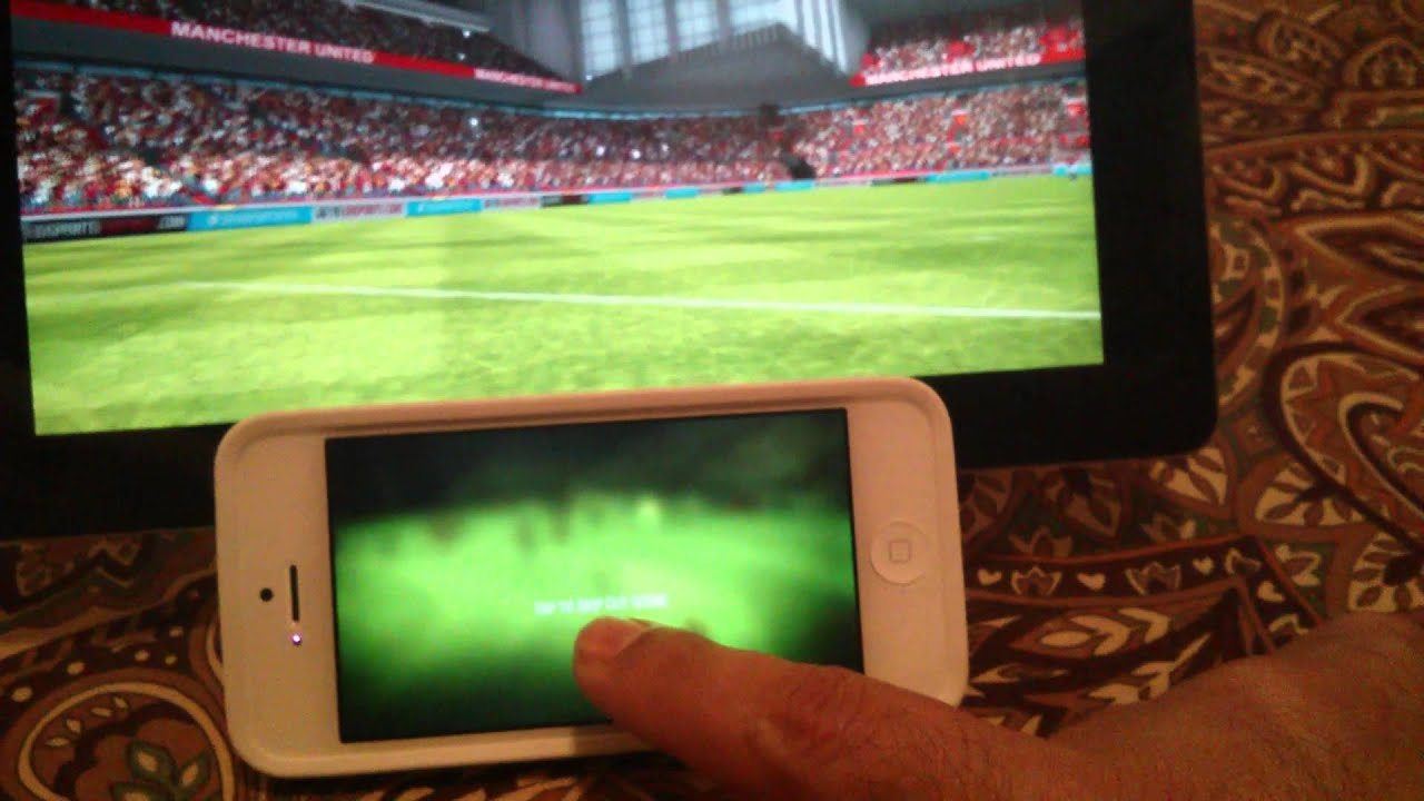 Fifa 12 Ipad Iphone Controller Using Iphone to Control Fifa