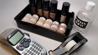 How To:  Depot Makeup For Ever HD Foundations to Make Them More Kit Friendly