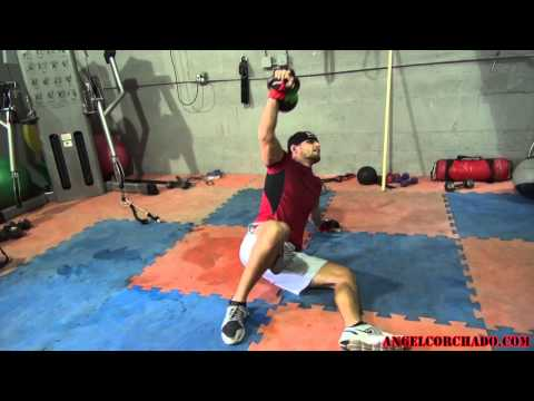 MMA Workout Routine Angel Corchado Pro Fight Camp Day 1 Circuit 2 Image 1