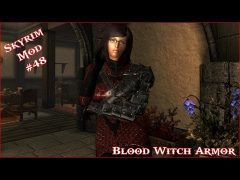 The Elder Scrolls V: Skyrim - Blood Witch Armor Mod