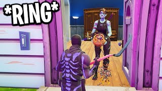 I went Trick-or-Treating on Fortnite... (bad idea)