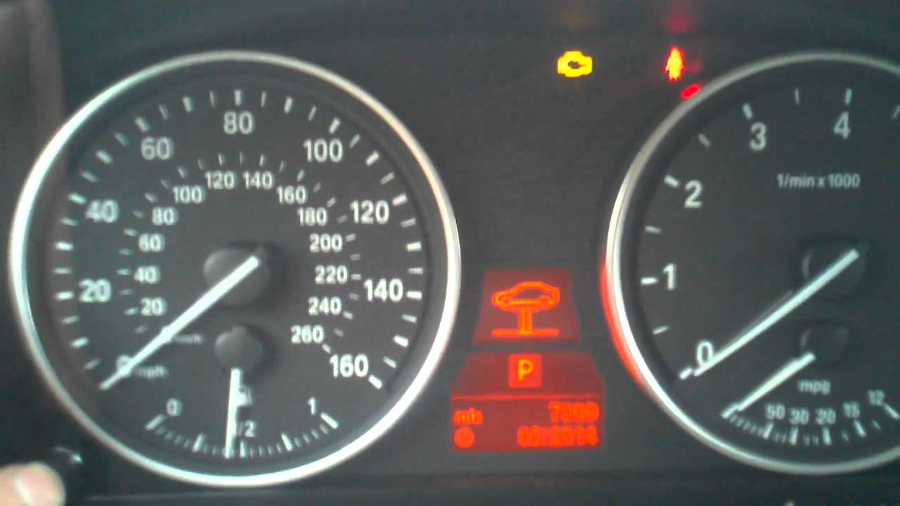 Bmw Service Reset X5 E70 Youtube