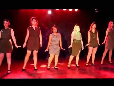 "QueenB Burlesque Student Troupe performs ""Boogie Woogie Bugle Boy"""