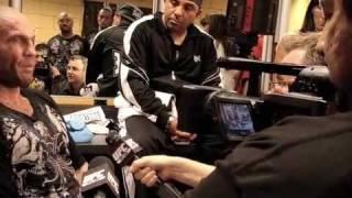 Randy Couture UFC 102 Video Blog - 8/29 Final Part 2