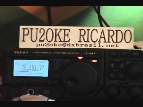 PU2OKE X RT4RO QSO IN 10 METERS BAND