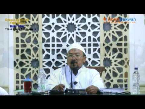 Kenalilah Aqidah Yang Sesat - Ustadz Mahfudz Umri Lc