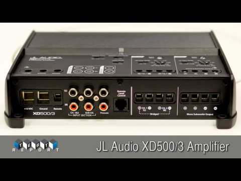JL Audio 500XD3 Amplifier