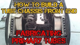 TFSS: How To Build A Tube Chassis Front End - Measuring & Fabricating the Primary Tubes