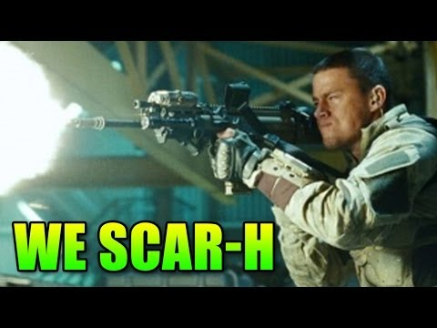 WE Scar-H Tan - Trench Warfare @ Code Red Airsoft