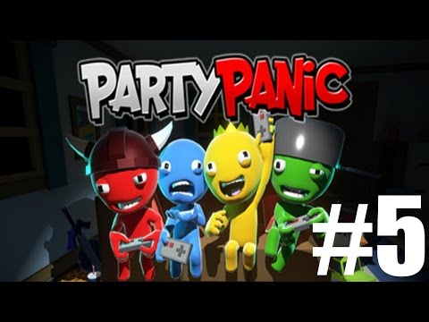 The FGN Crew Plays: Party Panic #5 - New Games! (PC)