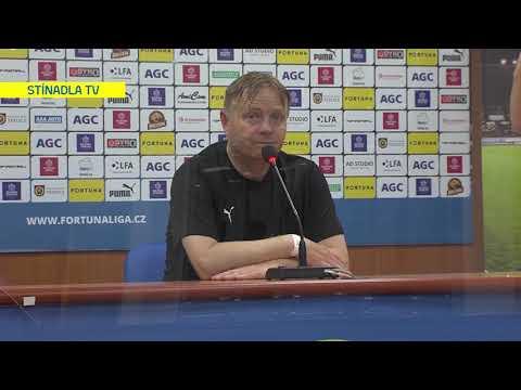 Rozhovory domácího týmu po utkání Teplice - Jablonec (7.6.2020)