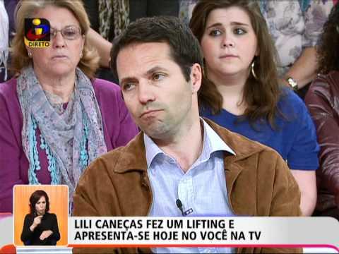 Voc� na TV: Lili Cane�as fez um lifting e apresenta-se no Voc� na TV