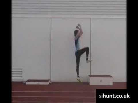 Salto de altura - pliometricos entrenamiento