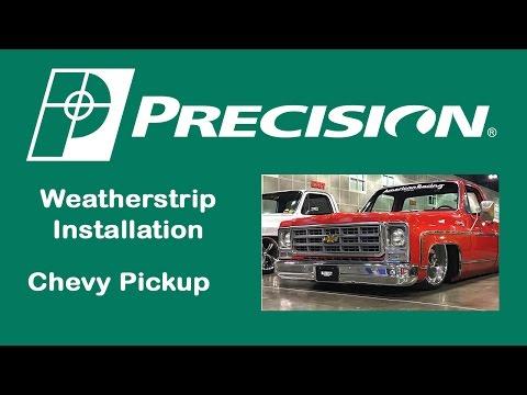 1973-1980 Chevy Truck Beltline Weatherstrip Install