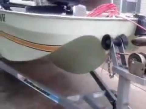 Ouachita 16 Bass Boat Youtube