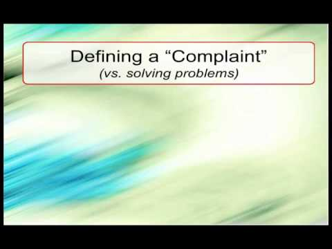 Phone Skills Trainer Lesson: Handling Complaints