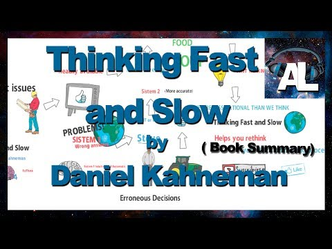 Thinking Fast And Slow Daniel Kahneman Book Summary