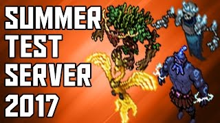 [Test Server - Tibia Summer Update 2017] First Impression of the New Summons & Spells!