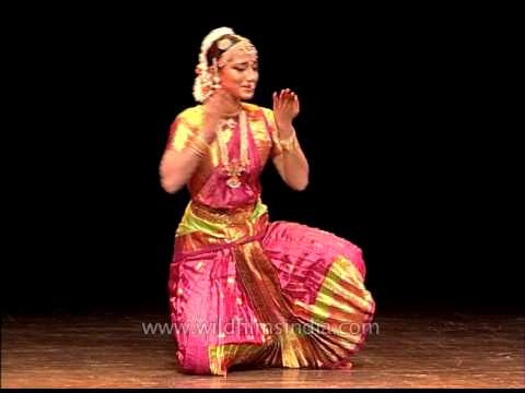 Bharatnatyam performance by professional Indian dancer!