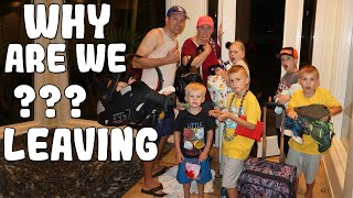 Forced to Leave Our New House bc of Flood! || Mommy Monday