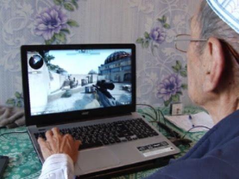 Пожилой омский геймер намерен стать киберспортсменом