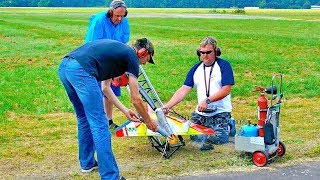 """VERY LOUD AND FAST RC PULSO JET """"VIRUS"""" FLIGHT DEMONSTRATION"""