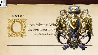 Before the Storm Excerpt Narrated - Anduin Letter to Sylvanas - World of Warcraft Battle for Azeroth
