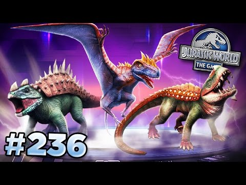 NEW Creatures! || Jurassic World - The Game - Ep236 HD