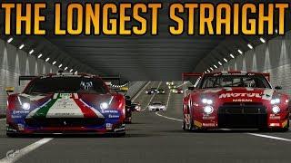 Gran Turismo Sport: Racing at the Longest Straight