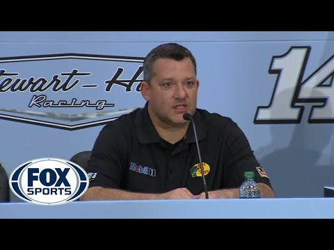 Tony Stewart Retirement Press Conference (Stewart-Haas Racing)