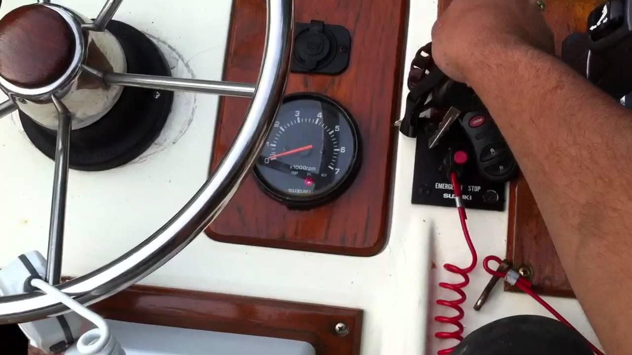 Suzuki Outboard Oil Change