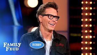 It's Team Decker Roddick vs. Team Bobby Bones! | Celebrity Family Feud