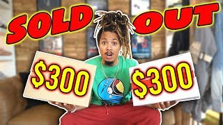 THESE BOTH SOLD OUT !!! PICKING UP 2 SOLD OUT SNEAKERS FOR FREE AND RETAIL !!! DOUBLE UNBOXING