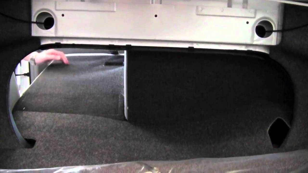 2011 Toyota Camry Rear Seat Fold Down How To By