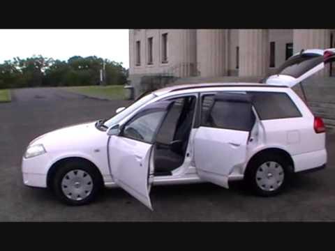 Nissan Wingroad 2002 88km 1 5l Auto Youtube