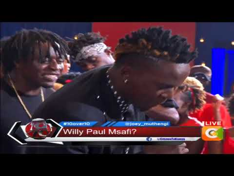 Willy Paul hit the stage with new song 'Mamangu' #10Over10