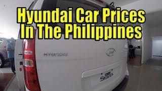 Hyundai Car Prices In The Philippines