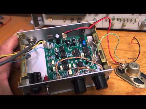 The Minipulse Plus pulse induction detector build