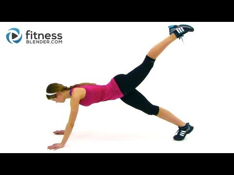 Fitness Blender Total Body Boot Camp - Bodyweight Workout to Tone Up Fast Image 1