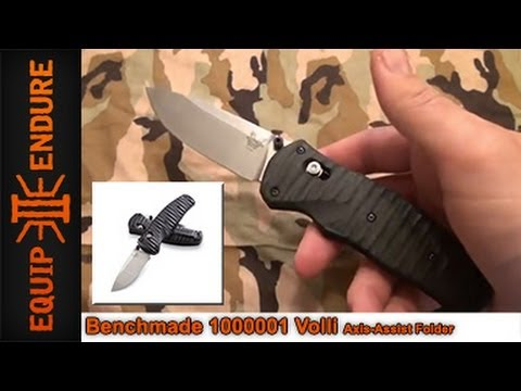 Benchmade Volli Folding Knife Overview by Equip 2 Endure
