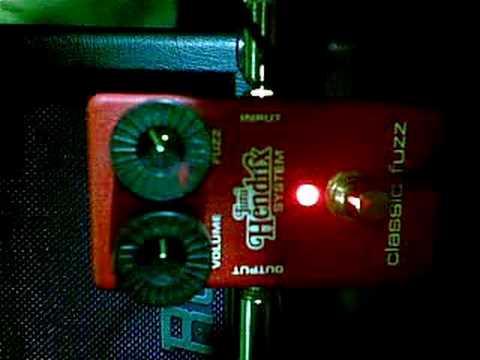 Jimi Hendrix Systems Classic Fuzz JH-2s