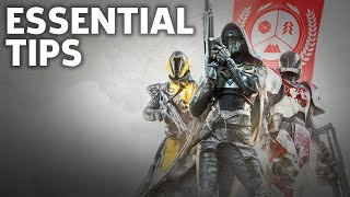 Destiny 2 - 4 Things You Should Know Before Starting | Beginner